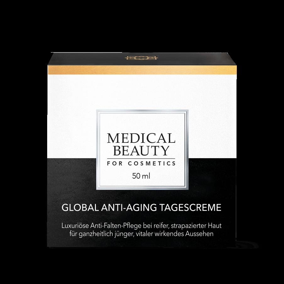 Vorschaubild Medical Beauty Global Anti-Aging Tagescreme Verpackung