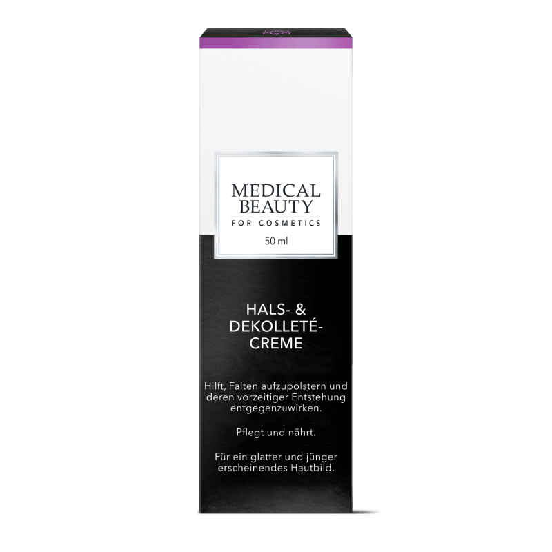Vorschaubild Medical Beauty Hals- & Dekollete-Creme Verpackung