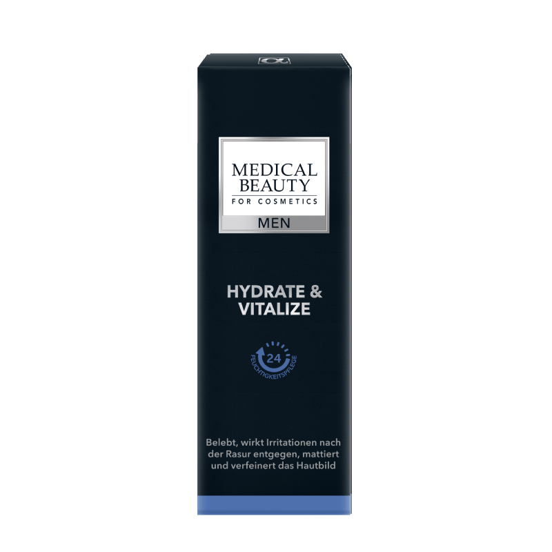 Vorschaubild Medical Beauty Men Hydrate & Vitalize Verpackung