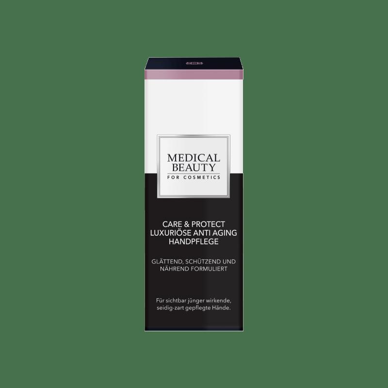Vorschaubild Medical Beauty Care & Protect Luxuriöse Anti Aging Handpflege Verpackung