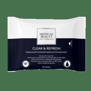 Medical Beauty Clear & Refresh Reinigungstücher Verpackung